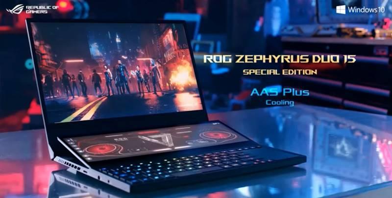 Asus ROG Zephyrus Duo 15 SE