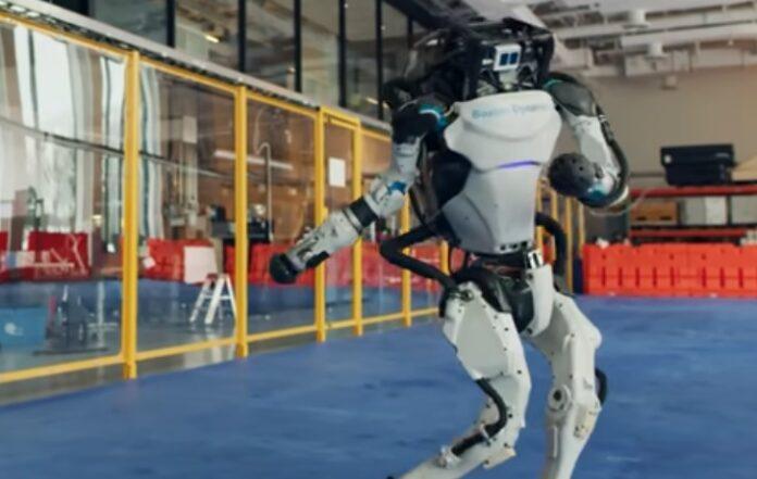 Robot Boston Dynamics Menari