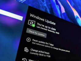 Cara Install Update Windows 10 21H1 Mei 2021