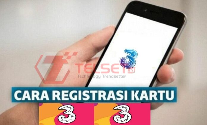 Cara Registrasi Kartu Tri