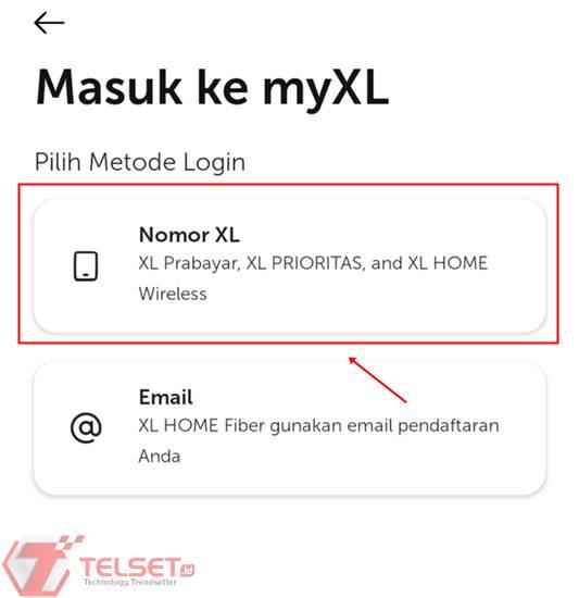 Transfer Pulsa Melalui MyXL