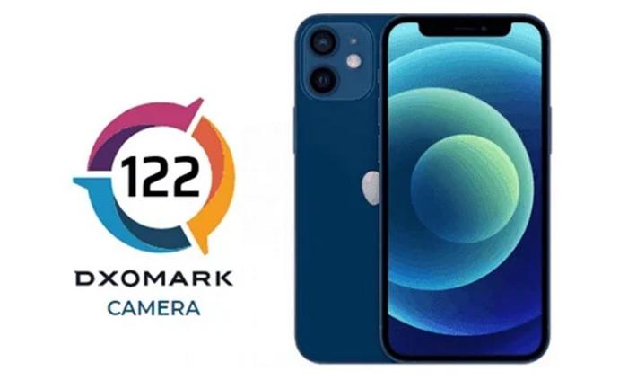 Skor DxOmark iPhone 12 mini