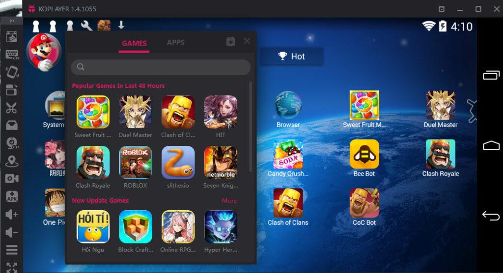 Emulator Android untuk Netbook