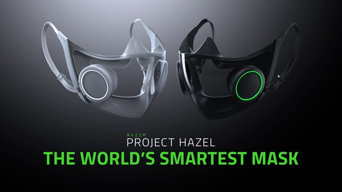 Razer Bikin Masker Paling Canggih Sedunia, Project Hazel