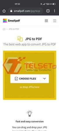 Cara Mengubah JPG ke PDF Online HP Android