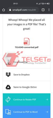 cara convert jpg ke pdf Online HP Android