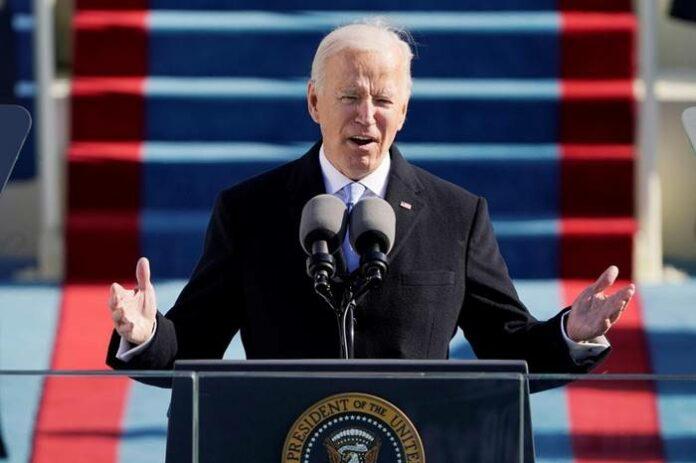 Pelantikan Joe Biden Kamala Harris