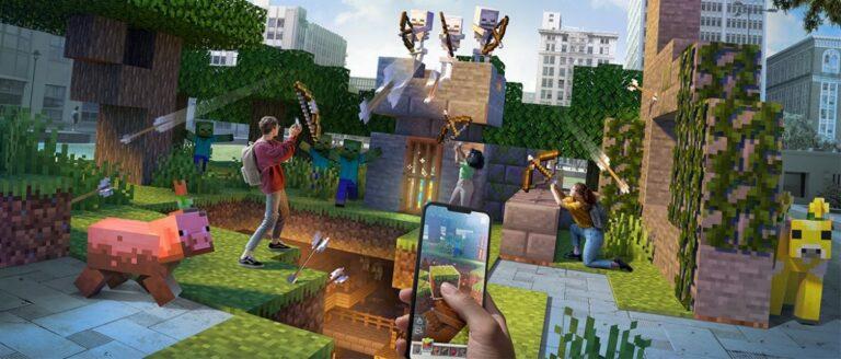 "Gegara Covid-19, Microsoft ""Suntik Mati"" Minecraft Earth"