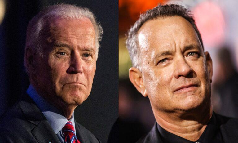Tom Hanks jadi Pembawa Acara Pelantikan Joe Biden
