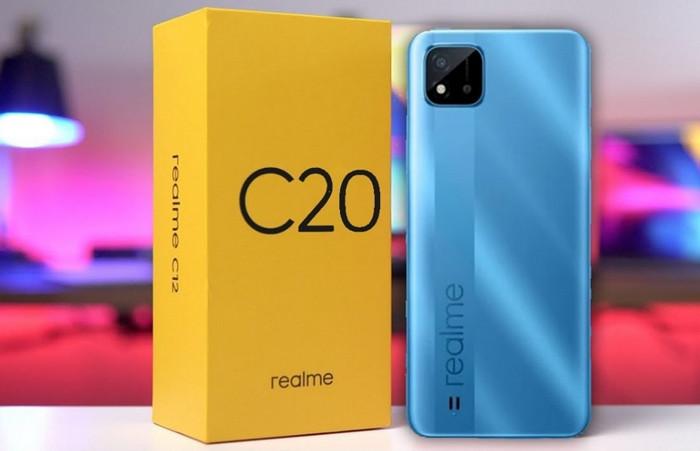 spesifikasi realme c20