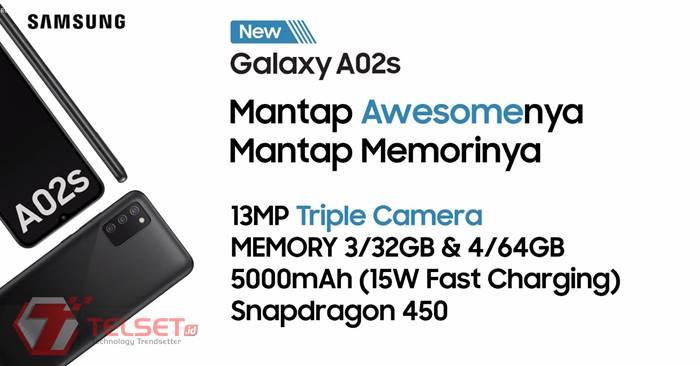 Samsung Galaxy A02s Indonesia