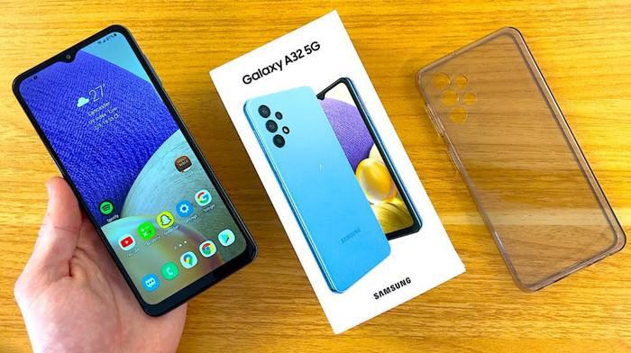 Samsung Galaxy A32, HP 5G Murah dengan Prosesor MediaTek
