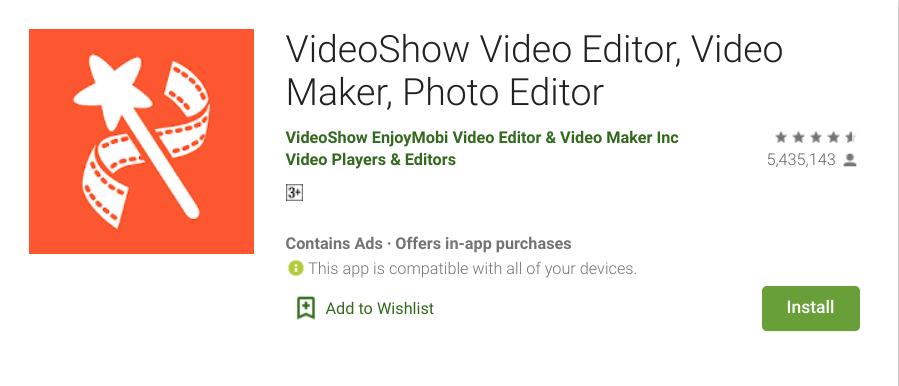 Aplikasi Video Bokeh HP Android Video Show