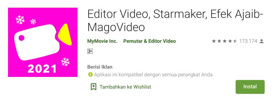 Aplikasi Video Bokeh HP Android Mago Video