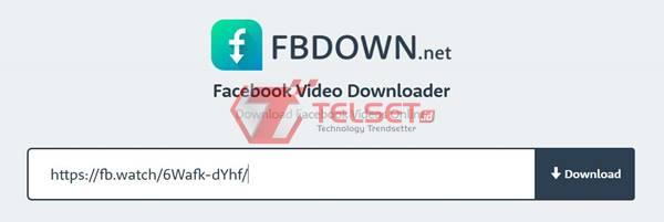Cara Download video dari Facebook Situs FB