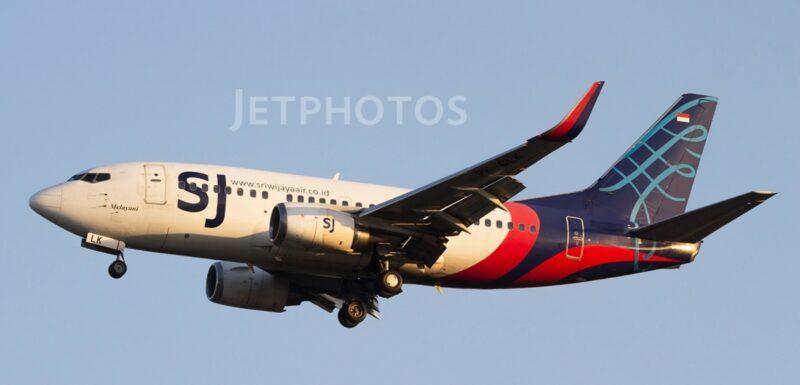 Sriwijaya Air Boeing 737-524