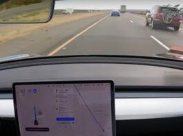 Full Self-Driving Tesla