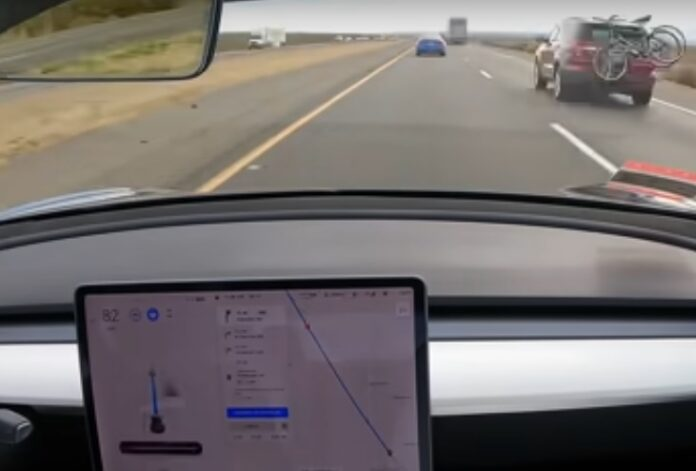 Full Self-Driving Tesla