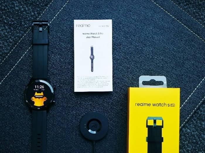 unboxing realme watch pro