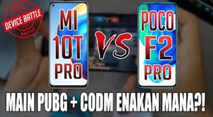DUEL! Xiaomi Mi 10T Pro vs POCO F2 Pro: Main PUBG + CODM Enakan Mana?