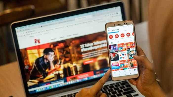 Telegram dan TikTok Dongkrak Trafik Telkomsel di Libur Natal