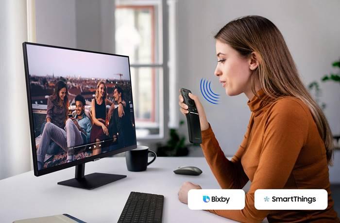 "Samsung Smart Monitor M7 Tiba, Monitor ""Do it All"" Pertama di Dunia"