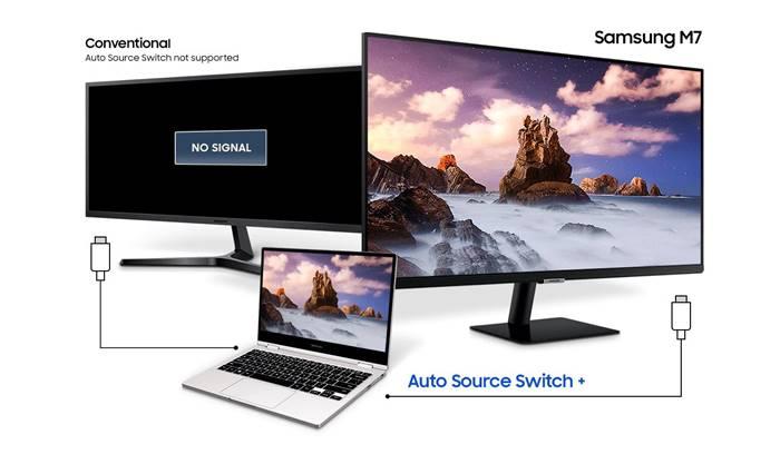 Fitur Samsung Smart Monitor M7
