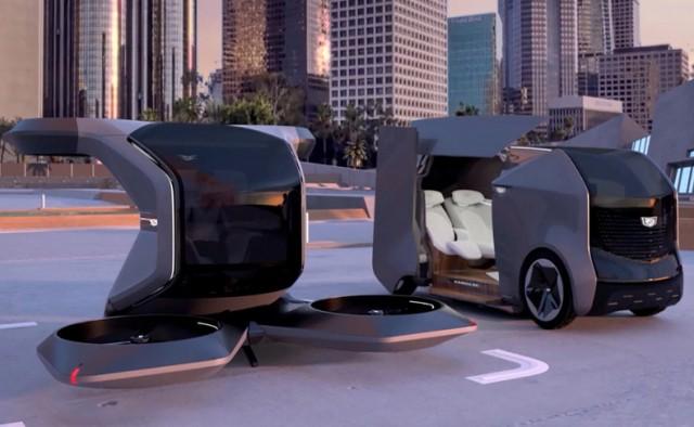 GM Perkenalkan Mobil Cadillac Otonom yang Bisa Terbang