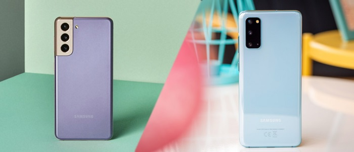 Perbandingan Samsung Galaxy S21 vs Samsung Galaxy S20