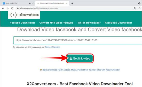 Cara Download video dari Facebook di Situs FB