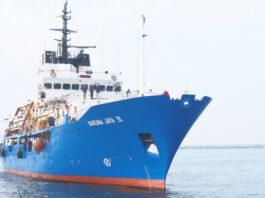 Ilustrasi Kapal Baruna Jaya IV