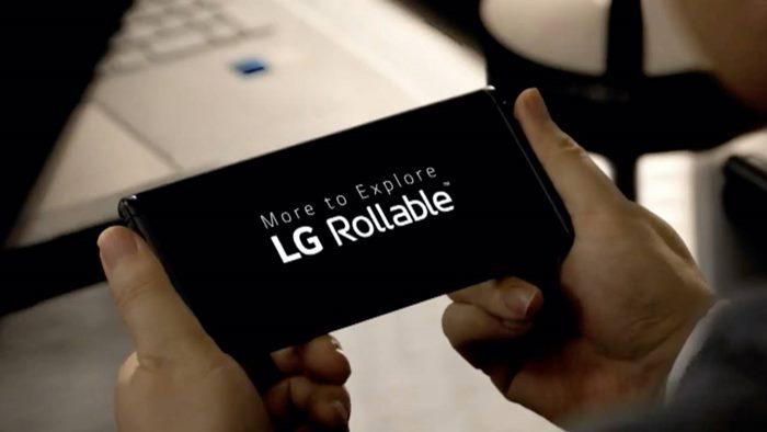 Smartphone lipat LG