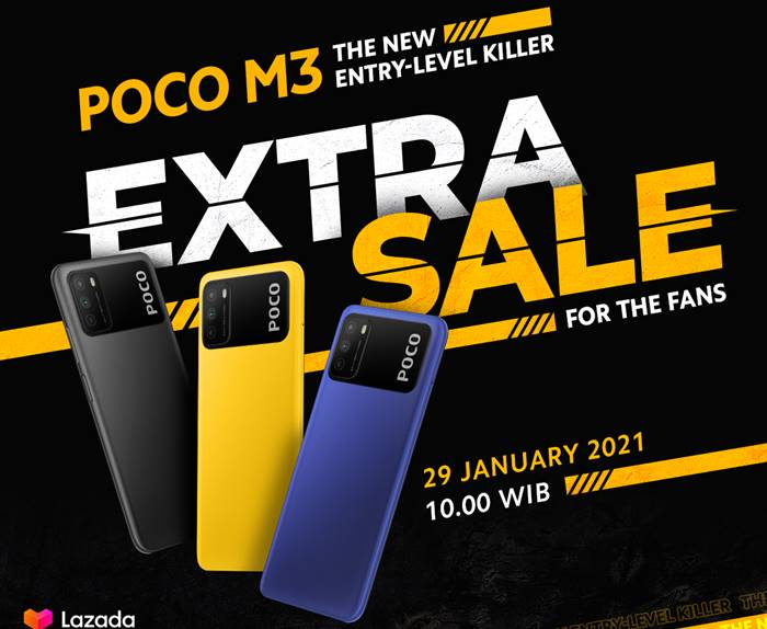 Extra Sale Poco M3 Lazada