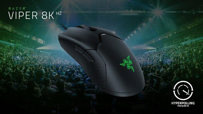 Mouse Gaming Lain Lewat! Razer Viper 8K Punya Respon Tercepat Sedunia