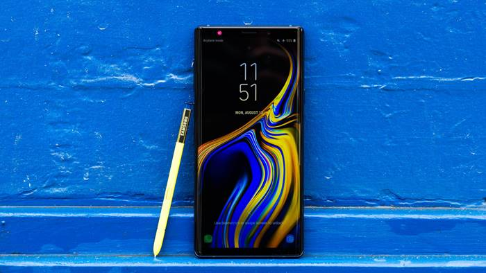 Smartphone prosesor 64 bit Samsung Galaxy Note 9
