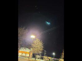Penampakan Cahaya UFO