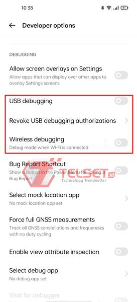Manfaat Fungsi Mode Pengembang Developer Options Android