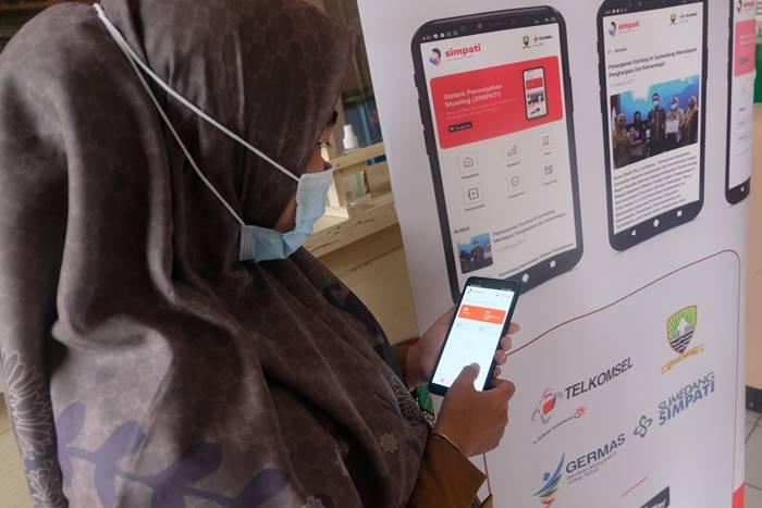 SIMPATI Telkomsel Stunting Sumedang