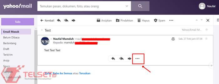 Cara blokir email Gmail dan Yahoo Mail