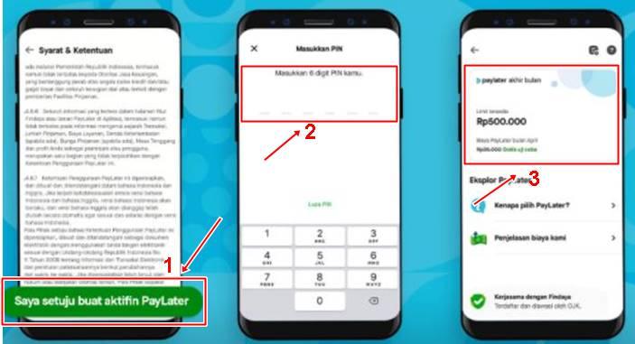 Cara Mengatur Jumlah Limit GoPay PayLater