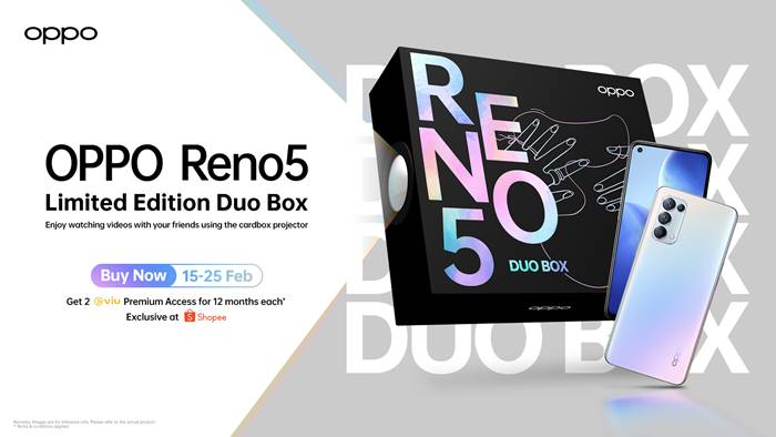 Oppo Reno5 Duo Box Limited Edition