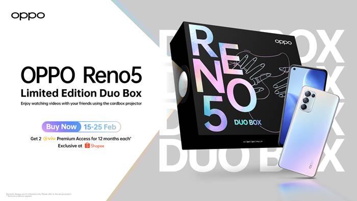 Oppo Reno5 Duo Box Limited Edition