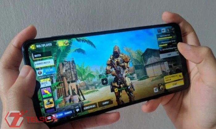 Galaxy A12 game mobile