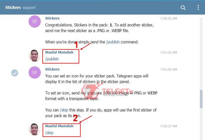 Cara Membuat Stiker Telegram