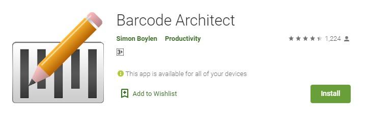barcode architect