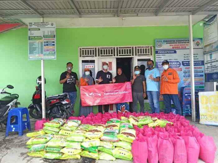 Bantuan Tri Indonesia Banjir Kalsel Gempa Mamuju