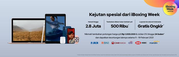 iBoxing Week Online 2021 Promo Produk Apple Menarik
