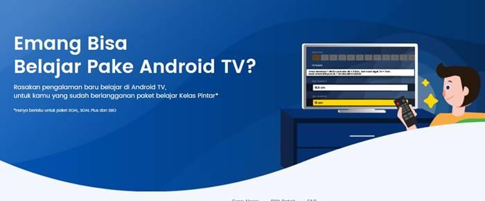 Aplikasi Kelas Pintar di Smart TV
