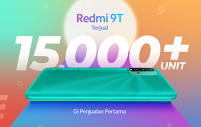 Penjualan perdana Redmi 9T