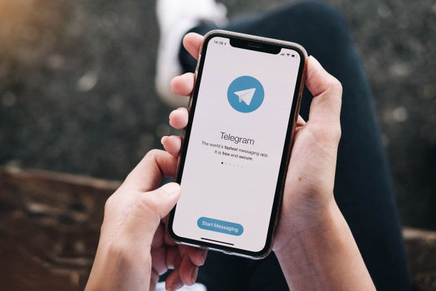 Cara fingerprint lock telegram